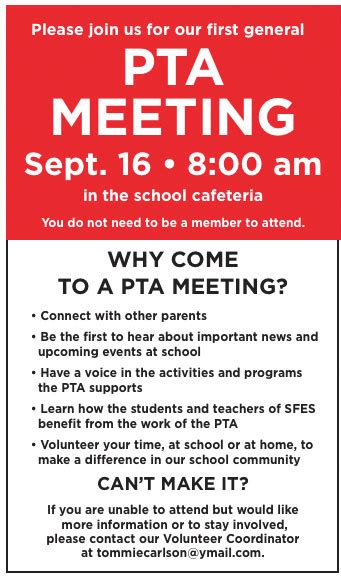 Love The Explanation Of Why It's Worth Going To A Pta