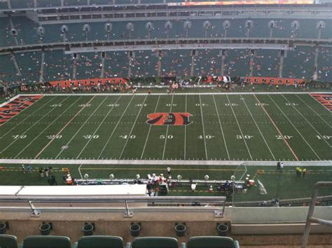 paul brown stadium section  home  cincinnati bengals