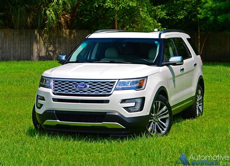 2016 Explorer Review by 2016 Ford Explorer Platinum Awd Review Test Drive