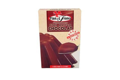 cuisiner sans sucre flan sans sucre au chocolat diabetys