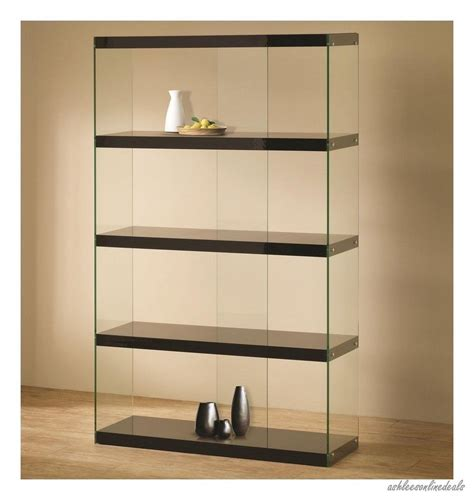 glass cabinets for living room new black glass curio furniture display case cabinet