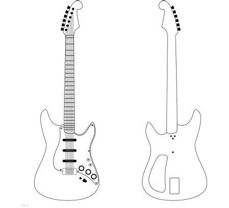 3doodler Templates by Feeling Musical Guitar 3doodler Whatwillyoucreate