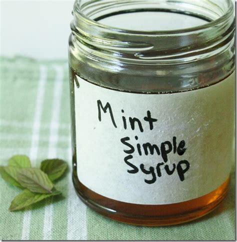 how to make simple syrup how to make mint simple syrup the wannabe chef