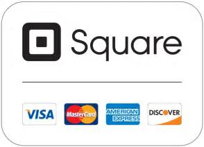 Square: MasterCard, Visa, American Express and Discover