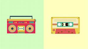 Cassette Tape Loop Play Animation With Alpha Stock Footage ...