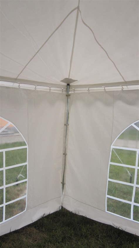 pvc pole tent canopy gazebo