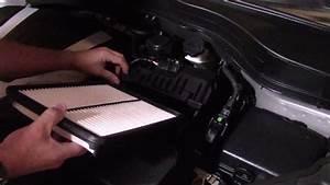 Kia Sorento Engine Air Filter Check  Replacement  Sxl 3 3