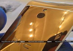 HTC One mini Gold colour variant spotted in the wild ...