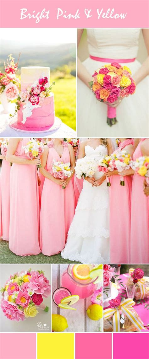 Stunning Bright Pink Wedding Color Ideas with Invitations