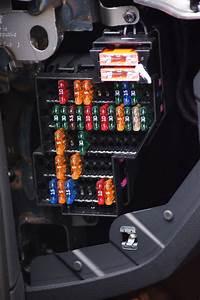 Sicherungskasten Links Fahrerseite   Belegung