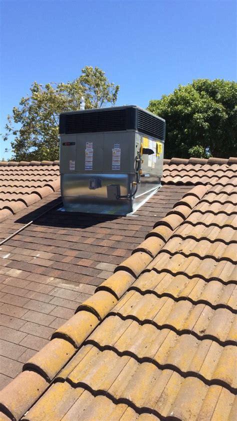 picture  roof repair  ac unit tile roof