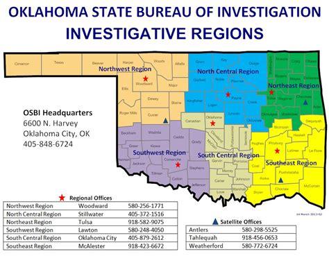 oklahoma state bureau of investigation investigative