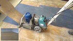 Linoleum vloer verwijderen