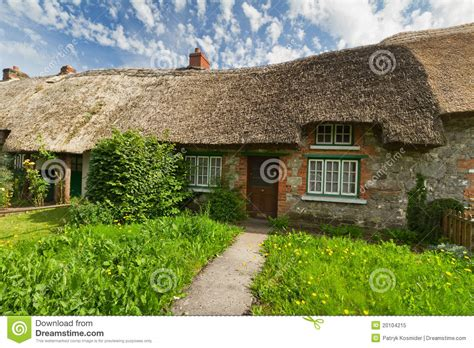 Traditional Cottage House Royalty Free Stock Photo Image