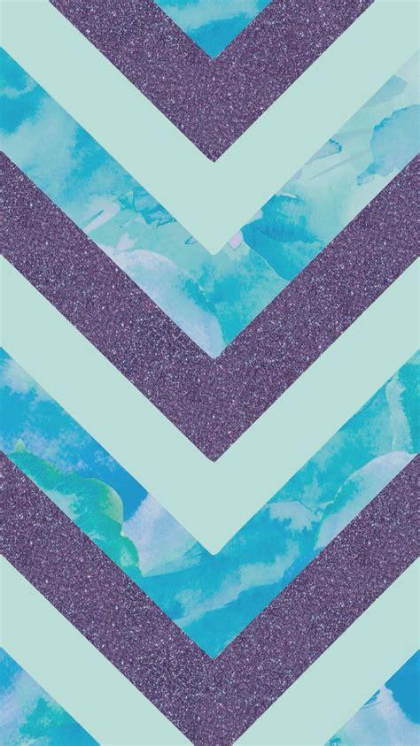 purple glitter water color chevron kawaii backgrounds