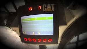 Advanced Display On The Cat U00ae D Series Skid Steer  Multi