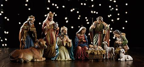 3 piece holy family christmas outdoor set avalon gallery michael 9 5 quot nativity set