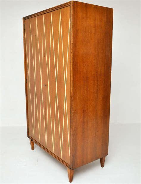 mid century italian wardrobe cabinet at 1stdibs