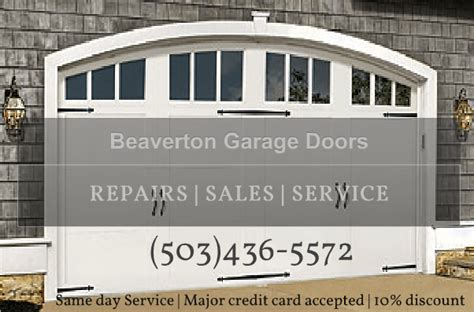 Beaverton Garage Door Repair (503) 4365572