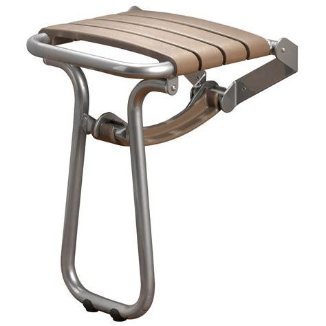 siege de rabattable siège de taupe gris chrome hauteur 550 mm