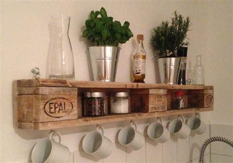 regal cuisine regal aus europaletten pallet able