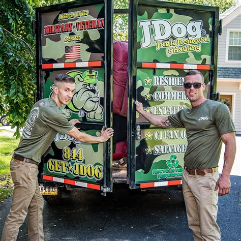 trash hauling jdog junk removal locally owned