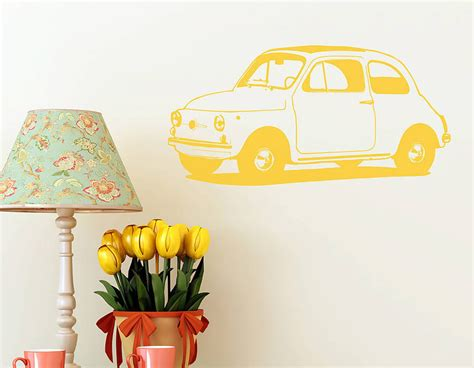 cute car vinyl wall sticker contemporary wall stickers