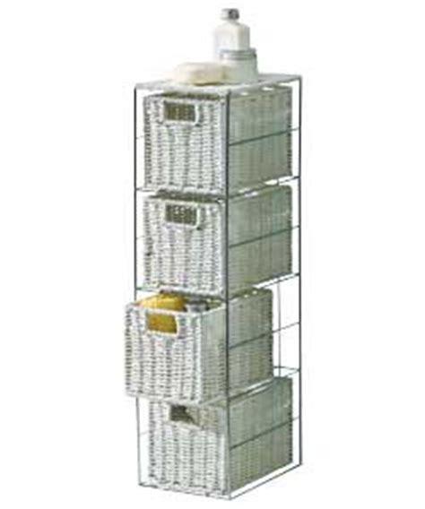 fantastic looking stylish slimline 4 drawer storage tower