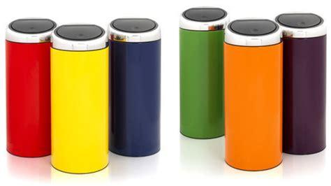 poubelle design cuisine poubelle brabantia touch bin