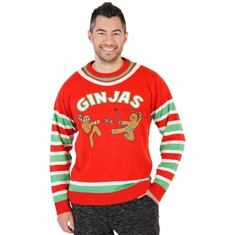 igly sweater fighting ginjas gingerbread ninjas sweater