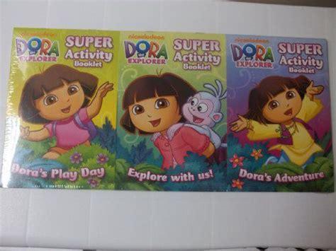 Nickelodeon Dora The Explorer 3 Pack Super Activity