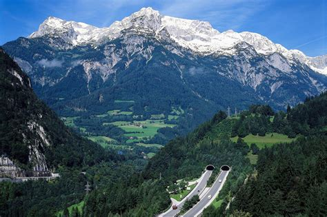 technik  den alpen tunnels bergwelten