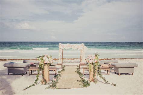 Romantic Destination Wedding In Tulum, Mexico