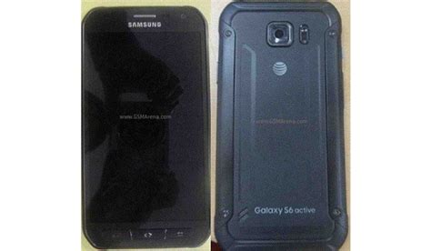 samsung galaxy s6 active press renders leaked ahead of launch