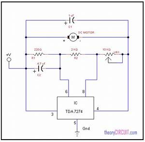 Low Voltage Dc Motor Speed Control Circuit