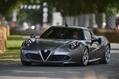alfa romeo cars news  debuts  goodwood festival