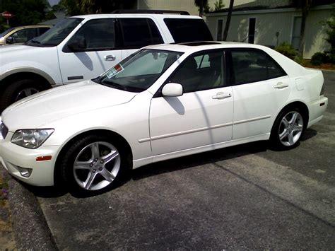 2001 Lexus Is 300 White