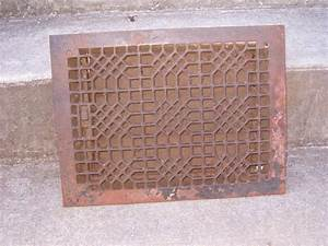 square cast iron floor grate With wrought iron floor grates