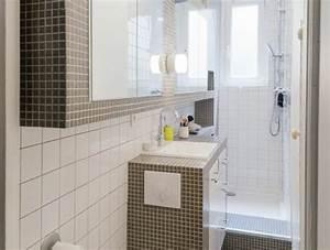 25 best ideas about salle de bain carrelage on pinterest With carrelage adhesif salle de bain avec tube led blanc chaud