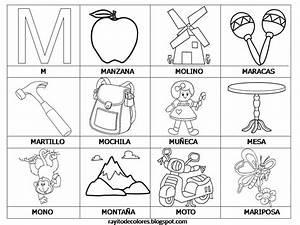 Rayito de Colores: Alfabeto en palabras de la A a la Z