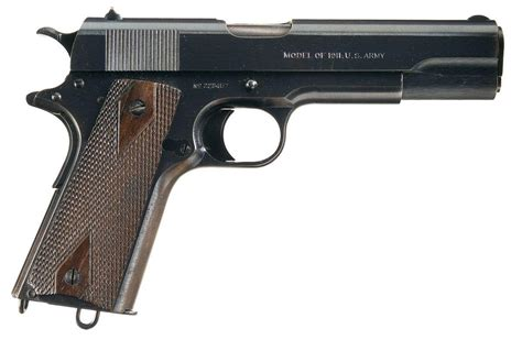 Excellent Wwi Colt Us Army Contract Model 1911 Semi