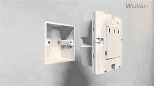 Wall Mounted Light Switch Of Zigbee Wireless Home