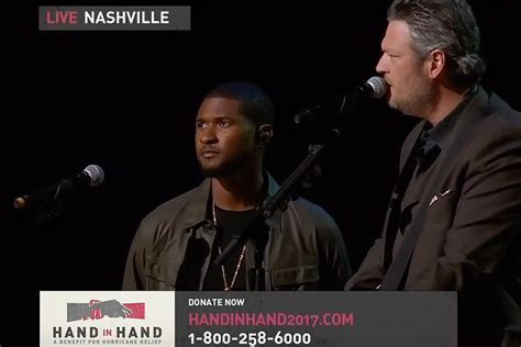 blake shelton usher stand by me 107 7 the bull 20 in a row country