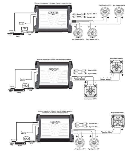 kicker 07mx3504 4x90 watt marine four channel lifier car electronics
