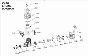 Motore Vertex 18cxp