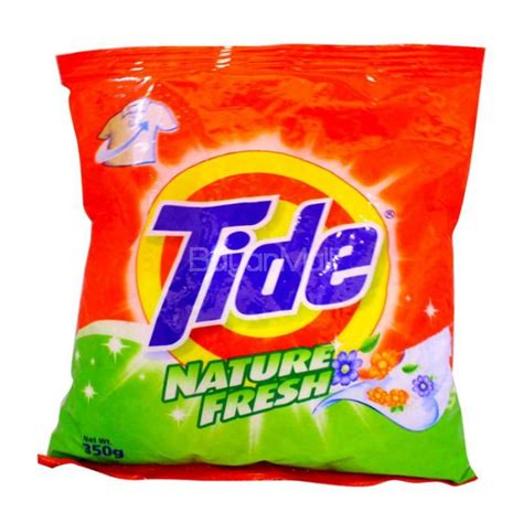 tide laundry powder nature fresh