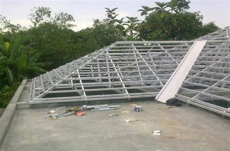 gambar konstruksi atap baja ringan atap rumah