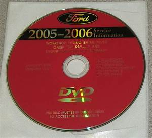2005 Ford Explorer Sport Trac Service Manual Set Dvd