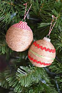 Diy, Rustic, Christmas, Ornaments
