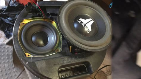 bose spare tire subwoofer in toyota avalon